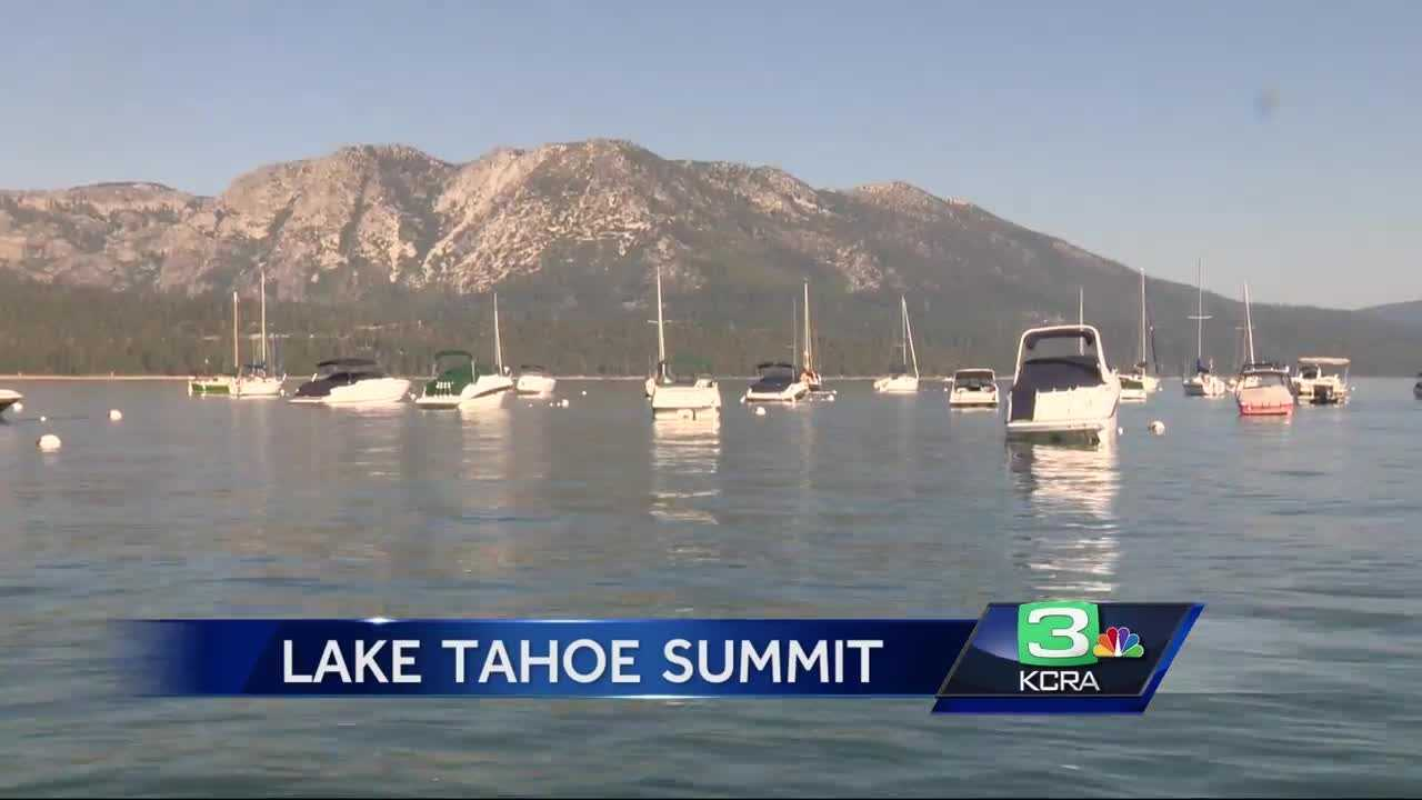 President Barack Obama spoke Wednesday at the Lake Tahoe Summit about the challenges of climate change and the importance of conservation.