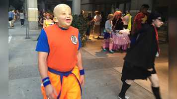 If you see strange creatures and characters walking around downtown Sacramento, don't be alarmed! The Sacramento Anime Festival is back and will be going on from Sept. 2 to Sept. 4. Here are some creative costumes.