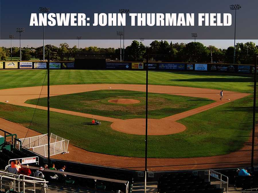 The stadium is used primarily for baseball and is the home field for the Modesto Nuts.