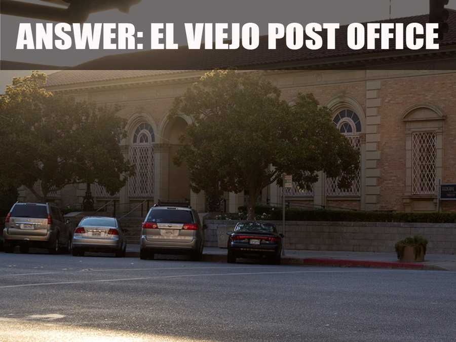 This historic post office in downtown Modesto was built in 1933.