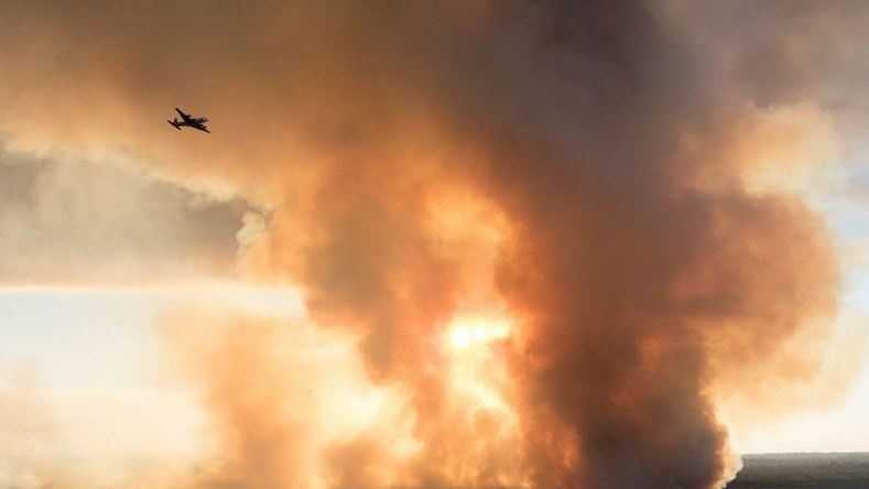 Saddle Fire in Butte County