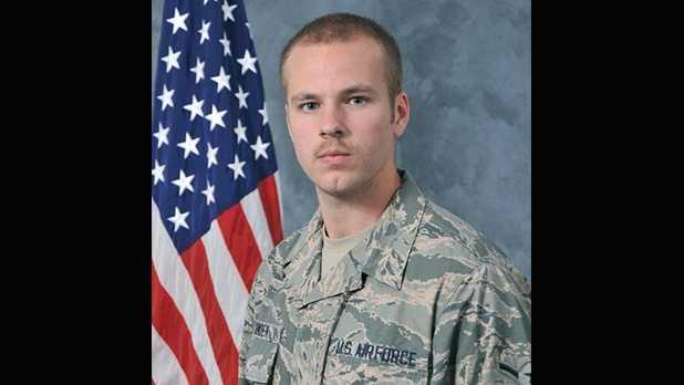 Airman 1st Class Tyler Oimoen