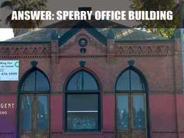The Sperry Building was built in 1888 and served as the offices for Sperry Flour Company.