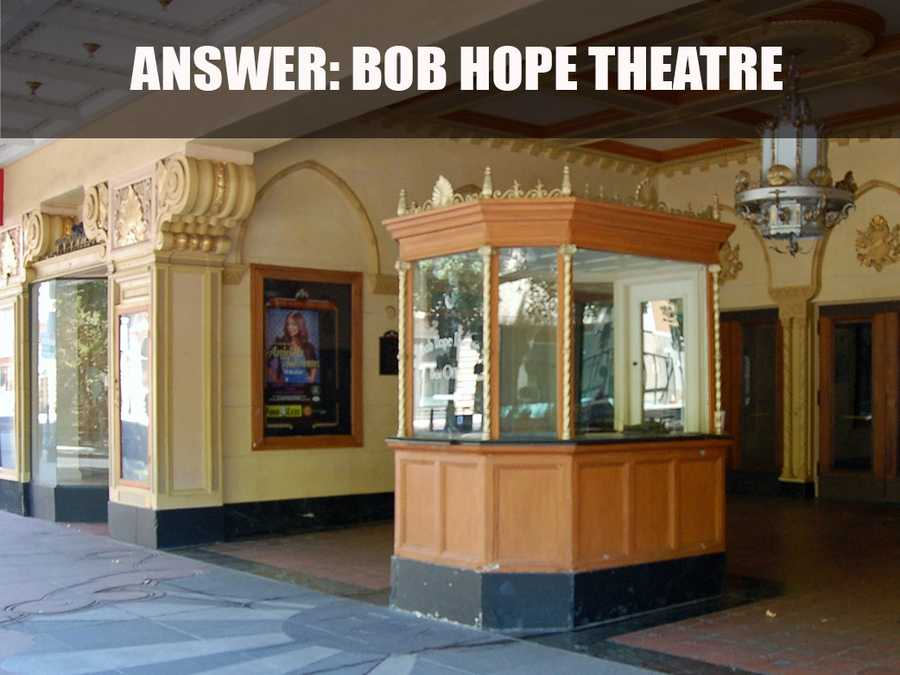 The Bob Hope Theatre is listed on the National Register of Historical Places.