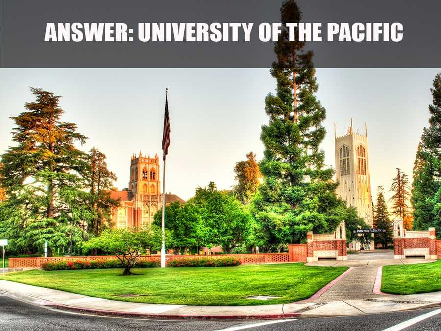 The University of the Pacific is the oldest chartered university in California as well as the first independent co-education campus, music conservatory and medical school on the West Coast.