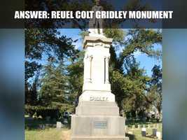 The monument was dedicated in Stockton's Rural Cemetery in 1887 and was registered as a historical landmark by the state of California in 1965.