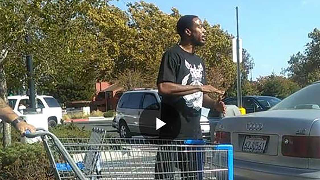 This man is suspected of attacking a 64-year-old man in a Fairfield Walmart parking lot on Tuesday, Sept. 13, 2016.