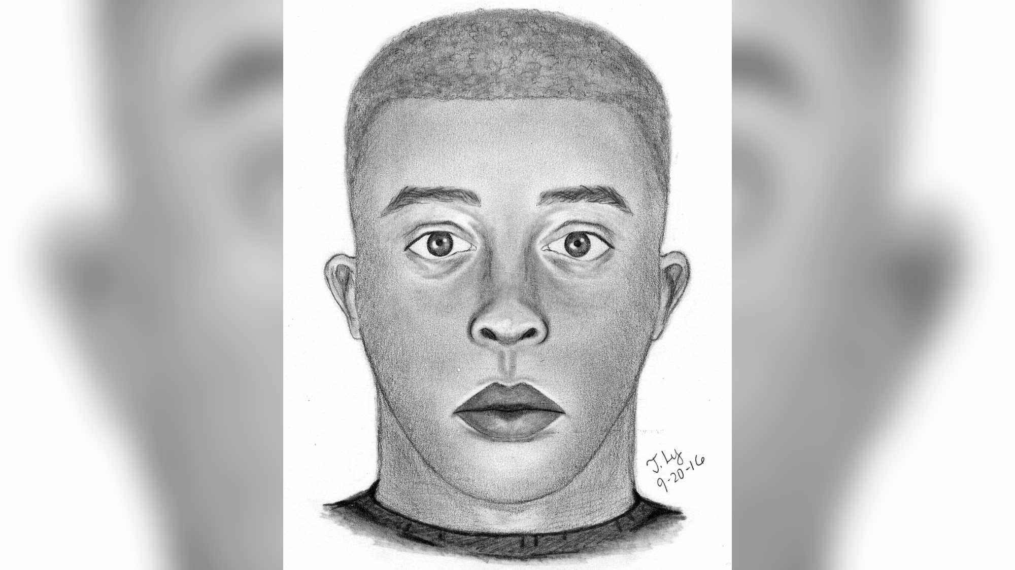 The Sacramento County Sheriff's Department released this sketch of man who attacked and sexually assaulted a 15-year-old girl.