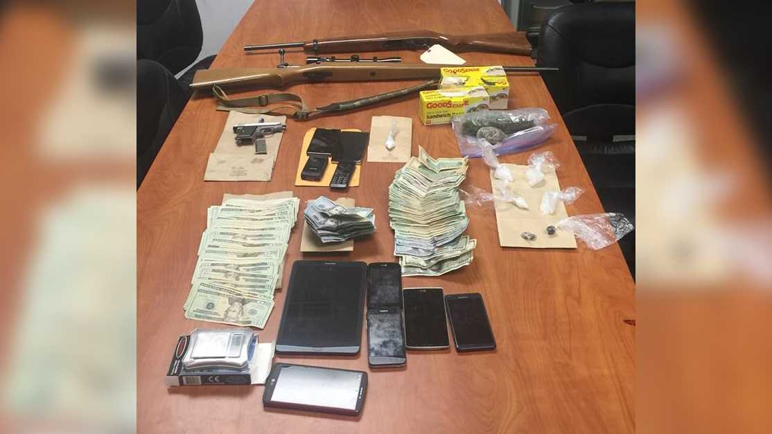 Deputies seized these items and more during a drug bust in Solano County.