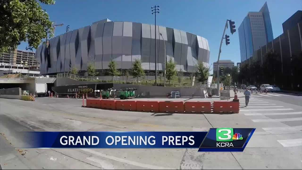 Officials are looking at ways to make Saturday's big day at Golden 1 Center flow as smoothly as possible.