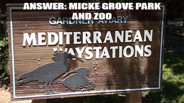 The Micke Grove Park and Zoo opened in 1938 and was a gift from William and Julia Harrison Micke.