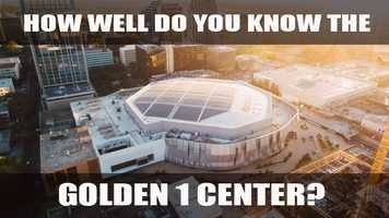 You've watched the lengthy construction process for the new arena, heard all the controversy surrounding it and waited two years for it to be completed. The doors have finally opened to the Golden 1 Center, but how much do you really know about it? Test your knowledge of the downtown Sacramento arena with this quiz.