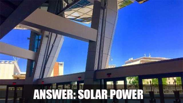 The Golden 1 Center is the first, 100 percent solar-powered arena. The open-air arena's retractable 6-story hangars allow for natural climate control.