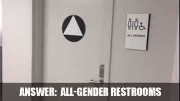 The Golden 1 Center is the first major sporting venue to have 23 single-user all-gender restrooms.