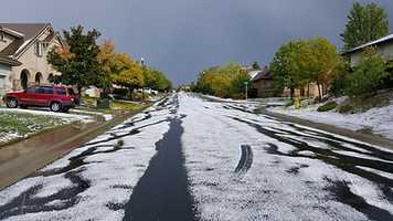 Hail in Roseville