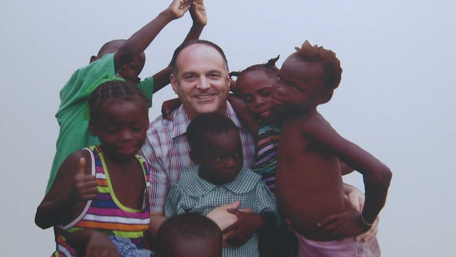 Father Tom Hagan in Haiti