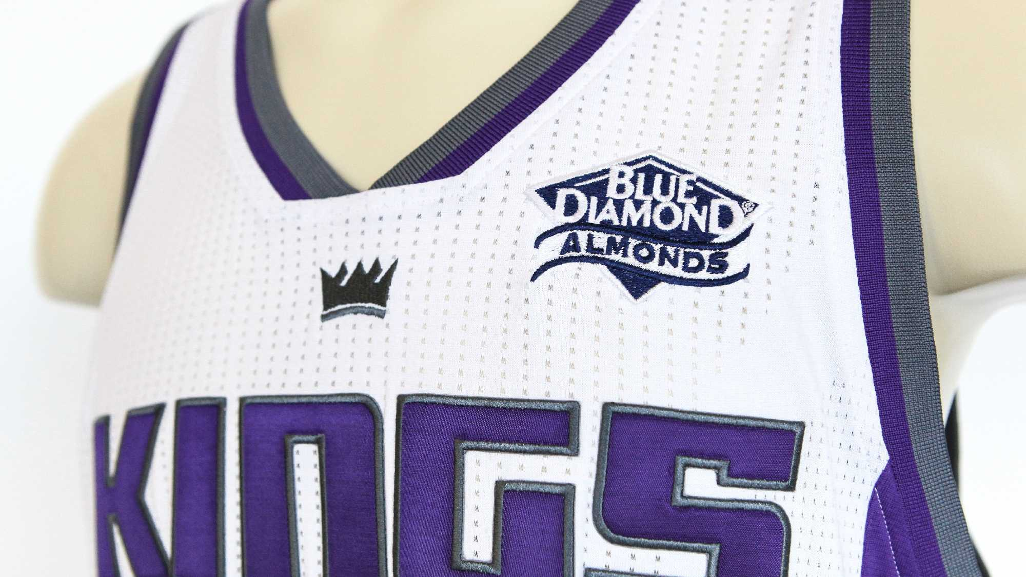 The Blue Diamond Growers patch would be added to the 2017-2018 uniform.