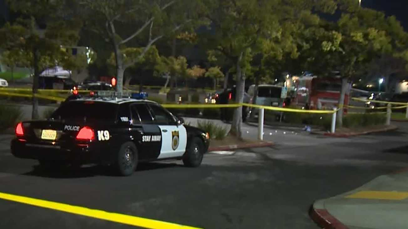 Police investigate a shooting at a Sacramento night club.