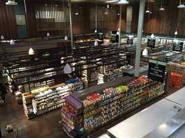 The co-op has 26,000 feet of space on the first floor -- nearly double the old location