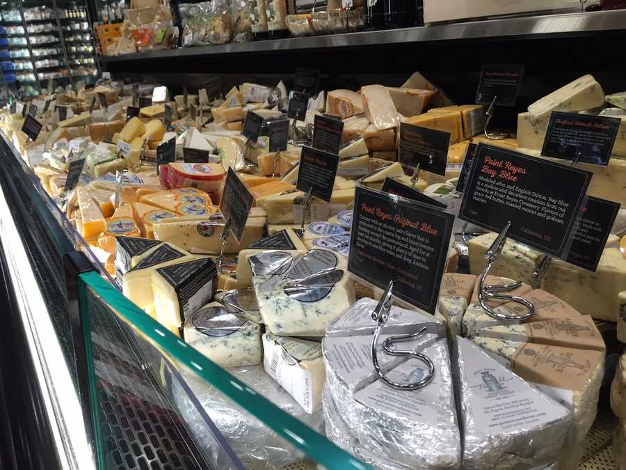 Cheese ... cheese, cheese for everyone!