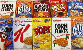 No. 6: Kids count. Manufacturers are marketing to your kids too. That's why the rainbow-colored cereals and candy are at their eye level.