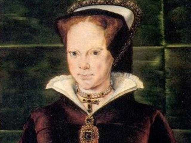 """Queen Mary I: (1516-1558) Ruler of England who had over 280 religious dissenters burned at the stake. She ordered the execution of countless religious dissenters, especially Protestant leaders&#x3B; earning the nickname """"Bloody Mary."""" She died at 42 during an influenza epidemic."""