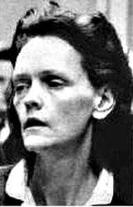 """Gertrude Baniszewski (1929 - 1990): An Indiana woman who oversaw and facilitated the torture, mutilation and murder of a 16-year-old she had taken in. When she was convicted of murder, the case was called """"the single worst crime perpetrated against an individual in Indiana's history."""" She was paroled in 1985 and died of lung cancer in 1990."""