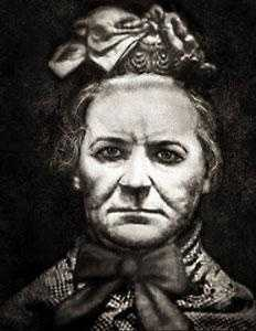Amelia Elizabeth Dyer (1838 - 1896): was the most prolific baby farm murderer of Victorian England. Parents or needy mothers would pay Dyer to adopt their infants, who she then killed. It is believed Dyer killed as many as 400 newborns over a period of up to 20 years. She was hanged in 1896.