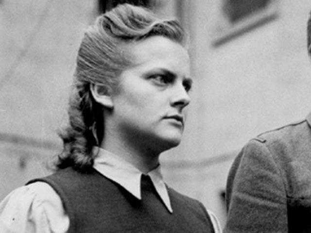Irma Grese: (1923-1945) Employee at Nazi concentration camps accused of torturing and killing dozens of people. She was convicted of crimes against humanity and executed when she was 22.