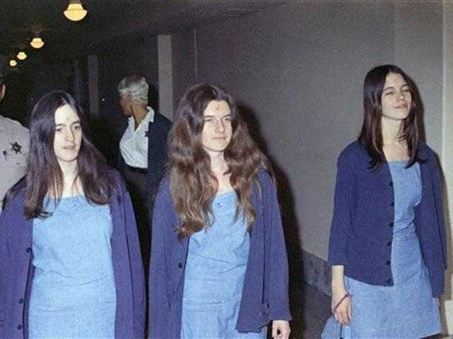 """The Manson Family Women (including Sandra Good, Susan Atkins, Leslie Van Houten, Patricia Krenwinkel and Lynette """"Squeaky"""" Fromme): Charlie Manson and his followers committed a series of nine murders at four locations in California, over a period of five weeks in the summer of 1969."""