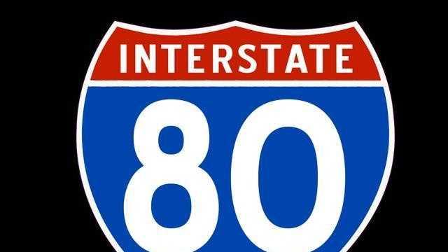 Interstate 80 Sign - 24824927