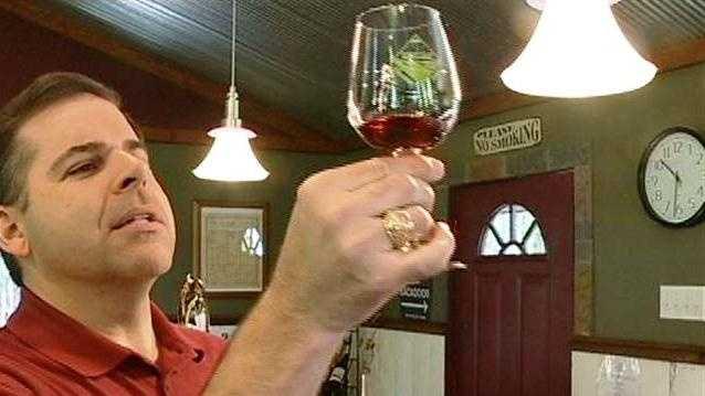 Western Iowa wine trail