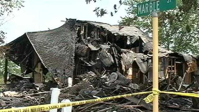 Onawa House explosion