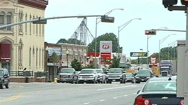 The mayor of Blair says business is booming thanks to its industrial growth.