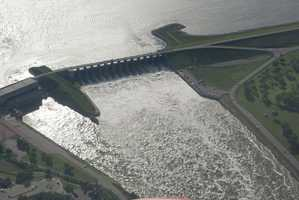Gavins Point Dam near Yankton, S.D.