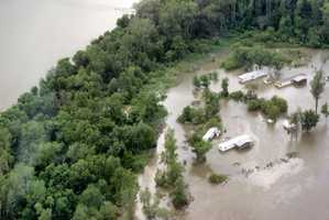 Missouri River flooding