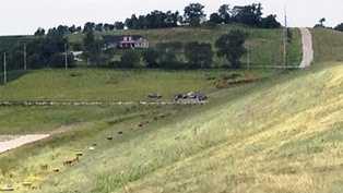 Scene where body was found.