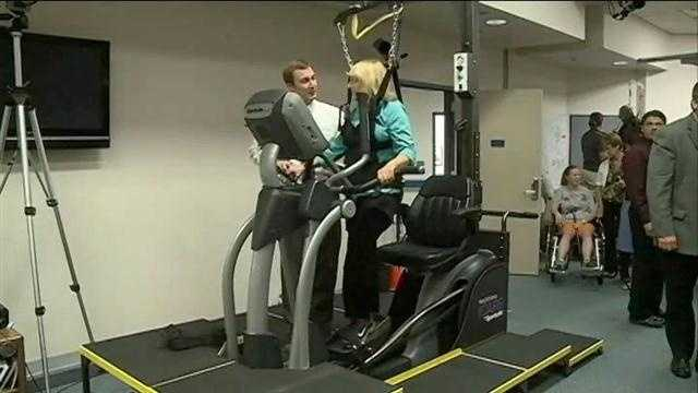 A new machine developed locally could help thousands of people walk again.