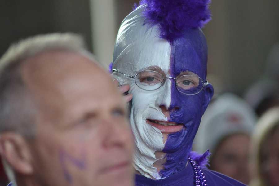 A Northwestern fan.