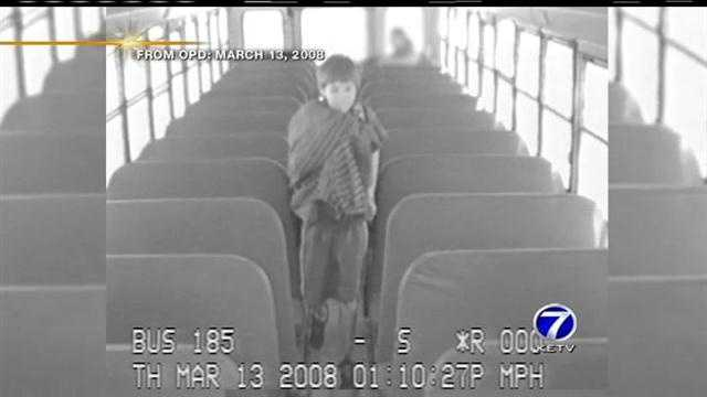 Police hope video of a little boy leaving a school bus and clues found on the Internet can unlock a four-year-old murder mystery.