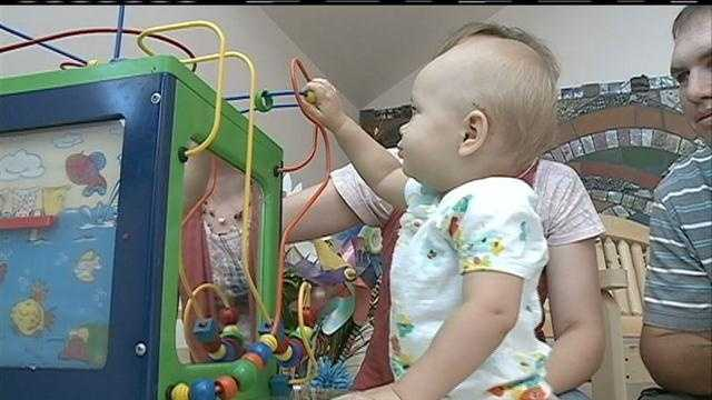 Boys Town National Research Hospital Celebrated its 500th cochlear implant, helping a 1-year-old hear on her birthday.