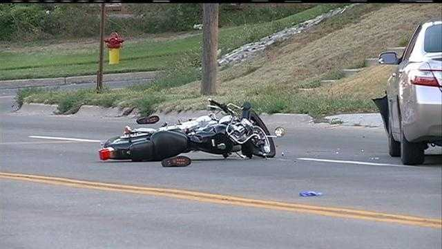 Omaha police say a 33-year-old woman was killed in a motorcycle crash near 64th Street and Military Avenue.