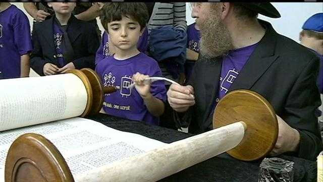The first Torah to be started and finished in Omaha is finally complete.