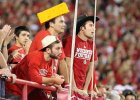 It was a rough second half for Wisconsin fans who made the trip to Lincoln.