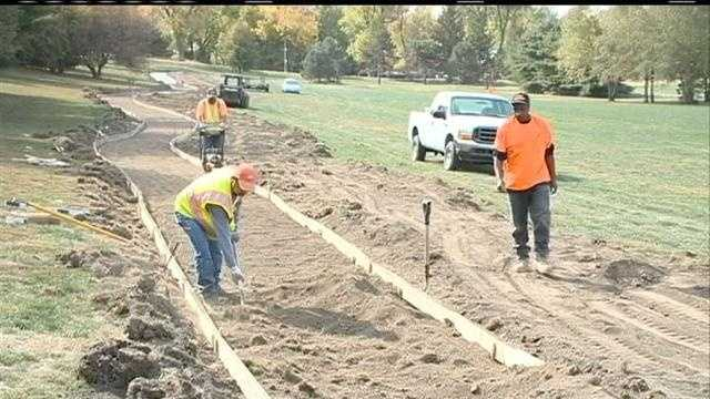 An extreme makeover is under way at the former Fontenelle Golf Course.