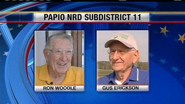 Two candidates are on the November ballot for Subdistrict 11's seat on the Papio Missouri River Natural Resources District Board of Directors.
