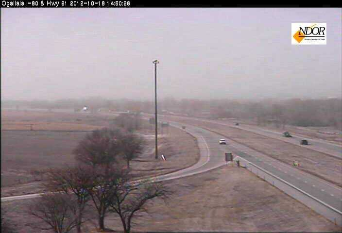 It's clear to see why officials decided to close I-80 in western Nebraska.
