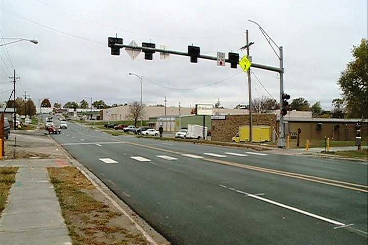 """A new pedestrian hybrid signal is being called """"the wave of the future"""" for pedestrian crosswalks in Omaha."""