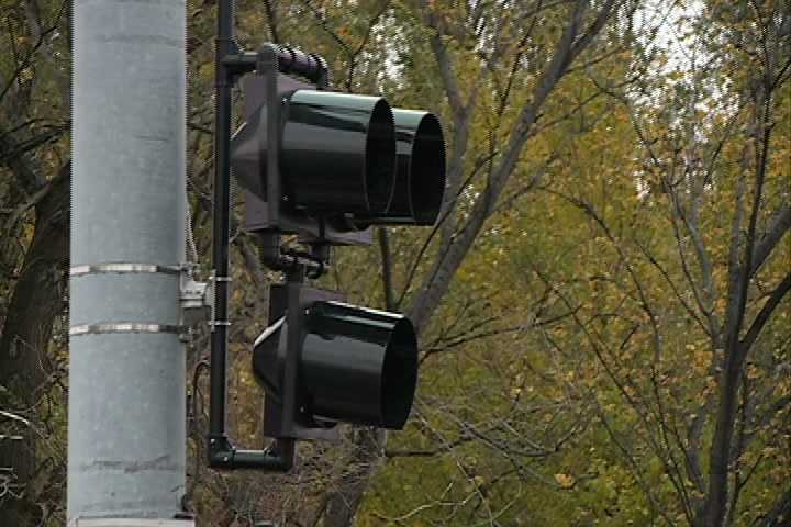 This will be the only traffic signal of its kind in the city for about six months.