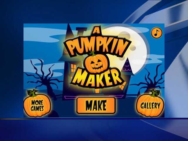 Pumpkin Maker is a free downloadable app for kids.